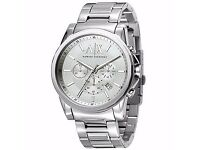 Armani Exchange AX2058 Men's Banks Chronograph Stainless Steel Watch