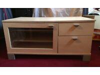 Birch effect tv cabinet