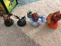 Skylander figures and items