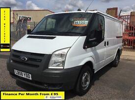 SALE SALE!! Ford Transit Van 2.2 300-1 Owner-EX BT,85K Miles ,FSH - 9 Stamps, 1YR MOT,Elec Windows