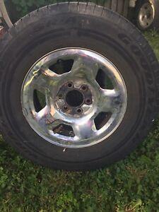 6 Bolt F150 rims and tires