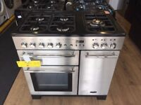 #8 Graded Rangemaster Platinum 90 Dual Fuel Range Cooker £699