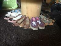 Women's shoes Mostly Size 6 but some 5 and some 7