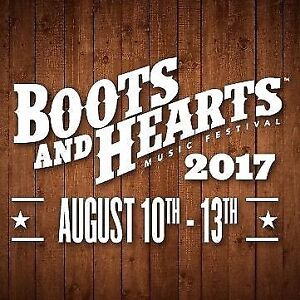 2 VIP Boots and Hearts Tickets