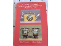 Antiques Book: 'Landscapes on Derby and Worcester Porcelain'