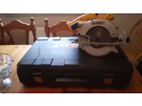 Used Dewalt DC390 XRP cordless 18 v Circular saw, with good blade,GWO, see photos & details