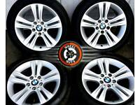 """## BARGAIN ## 17"""" Gen BMW Sport alloys perfect cond, 4 good Goodyear NCT tyres."""