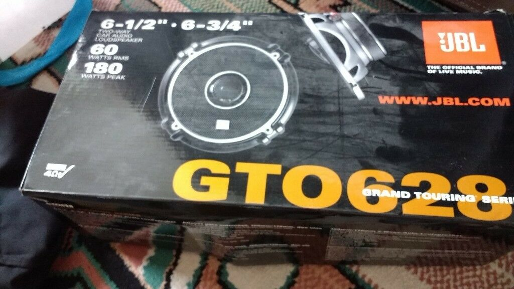 Car Speakers Gto 628 Grand Touring Series 6 1 2 6 3 4 In