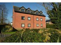Spacious 1 bedroom top floor flat to rent in Wimborne + garage - BILLS INCLUDED