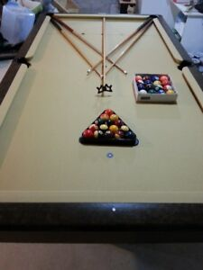 4X8 Brunswick Pool Table for sale