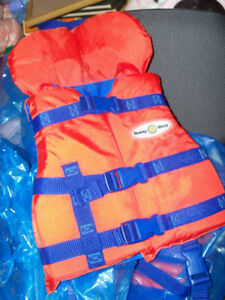Infant life jacket .. 20 to 30 lbs weight .... used once