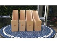 IKEA boxwood magazine files. Excellent condition. Excellent for storing magazines and journals