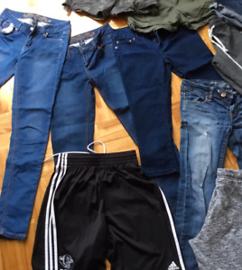 Lot de vetements adolescente / femme a vendre