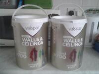10 Litre Excellent Quality Lilac Valspar Paint for sale