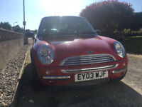 Mini Cooper 1.6L with Panoramic Roof - Red - 81k miles - Low Mileage!