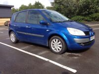 RENAULT SCENIC 1.5 DIESEL- CLUTCH AND CAMBELT REPLACED, FSH