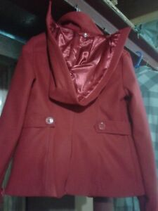 """Red """"Material girl jacket""""  XS/S"""