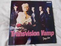 Vinyl LP Pop Art – Transvision Vamp MCA MCF 3421 Stereo 1988