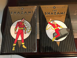 SHAZAM ARCHIVE EDITIONS #1-3, SHAZAM FAMILY #1 DC COMICS