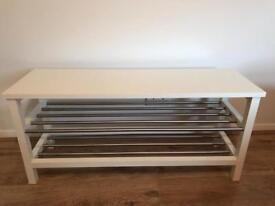 Shoe rack/bench (Ikea)