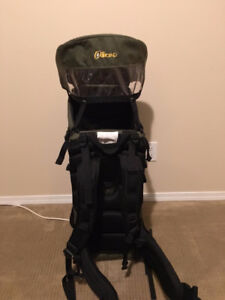 Outbound kiddie carrier