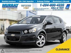 2014 Chevrolet Sonic LT Auto *Heated Seats, Remote Start, Satell