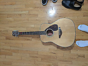 Yamaha FG700S Folk Acoustic Guitar -  Great Condition