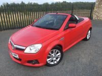2005 55 VAUXHALL TIGRA 1.4 SPORT *HARD TOP CONVERTIBLE* - ONLY LOW MILEAGE - SUPERB EXAMPLE!