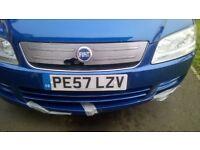 Fiat Multipla MK2 Blue for spares or repairs