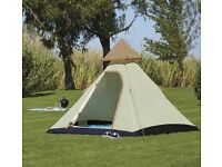 Teepee style tent (4 man)