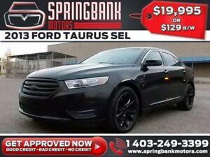 2013 Ford Taurus SEL AWD w/Leather, Sunroof, Navi $119B/W INSTAN