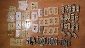 Electrical Wall Plates, Toggle Switches, and Receptacles