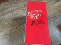 Famous Five 21 book box set