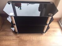 TV stand in black colour really nice condition