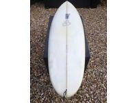 """Al Merrick Biscuit Surfboard 5'8"""""""