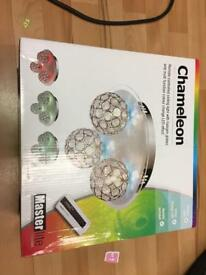 Chameleon remote control ceiling light new