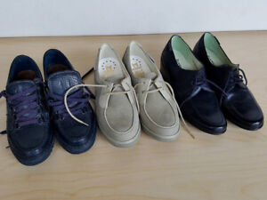 Mephisto Genuine Leather Womens Shoes. Sizes 4, 6.5 and 7