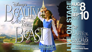 Disney's Beauty and the Beast Tickets (Fri., Aug. 25th, 8:00pm)