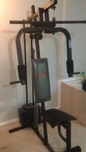 Weider Home Gym 85 pounds of weight