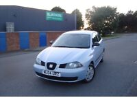 SEAT IBIZA - ONLY 2 FORMER KEEPERS - SERVICE HISTORY - CHEAP TO RUN - TAX - INSURE - FREE DELIVERY