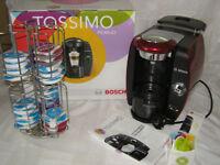 Tassimo Coffee Machine with Pod Storage Stand