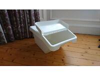 Stackable 37 L waste sorting bin (Ikea SORTERA)