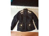Ladies IXS motorcycle jacket
