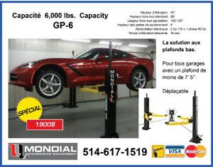 Mondial Pont elevateur / Lift de garage/ Lift mecanique GP-6