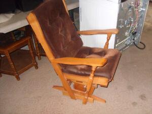glider rocker chair