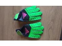 Adidas kids football gloves