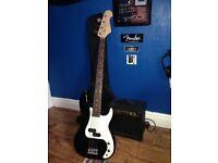 Redwood bass guitar/amp/gig bag