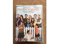 Modern Family seasons 1-4 DVD