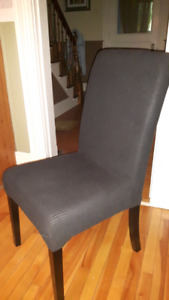 Cushioned parsons chairs