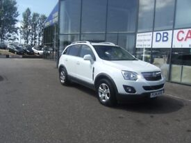2014 14 VAUXHALL ANTARA 2.2 EXCLUSIV CDTI S/S 5D 161 BHP ** GUARANTEED FINANCE * PART EX WELCOME ***